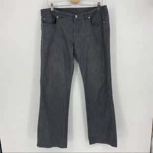St John Couture Jeans Size 12 Straight Rhinestone